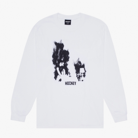 HOCKEY - At Ease L/S Tee - White