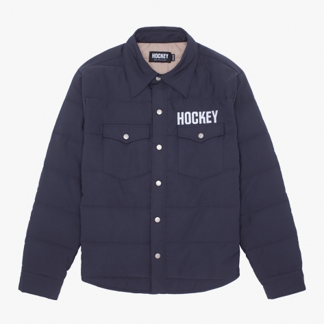 HOCKEY - Hockey Down Snap Shirt - Black