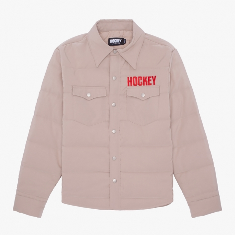 HOCKEY - Hockey Down Snap Shirt - Khaki