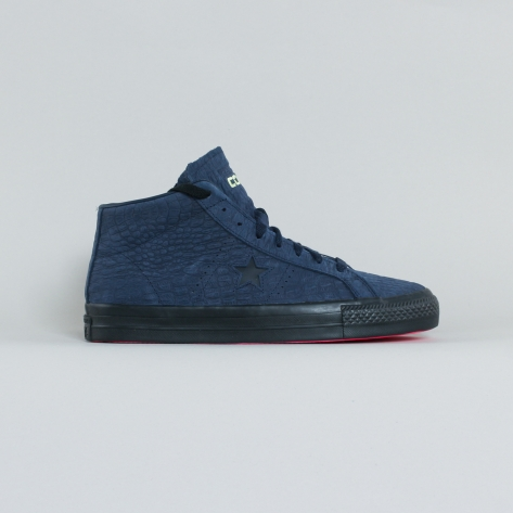 Converse CONS – One star Mid – Dark Navy Pink