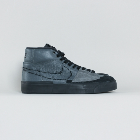 Nike – Blazer Mid Edge – Black / Iron Grey – 001