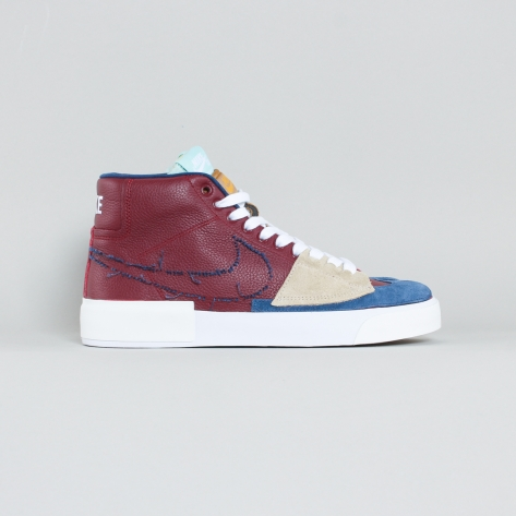Nike – Blazer Mid Edge – Team Red / Navy – 600
