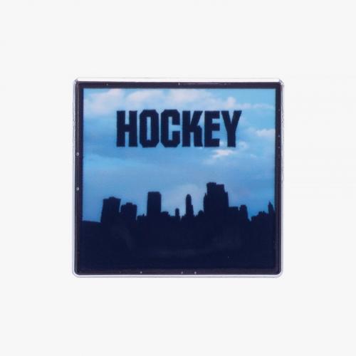Hockey - Side Two Enamel Pin - Enamel