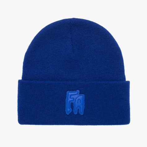 Fucking Awesome - FA Applique Cuff Beanie - Royal
