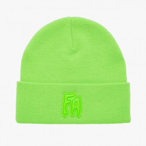 Fucking Awesome - FA Applique Cuff Beanie -...