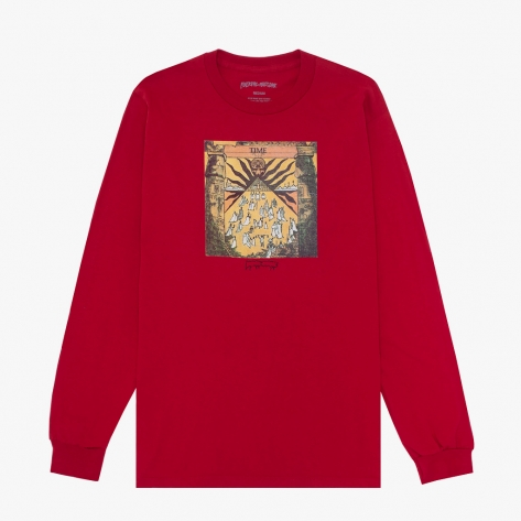 Fucking Awesome - Time L/S Tee - Red