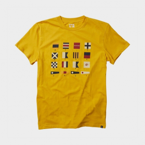 DC Shoes - X Magenta Tee – Yellow